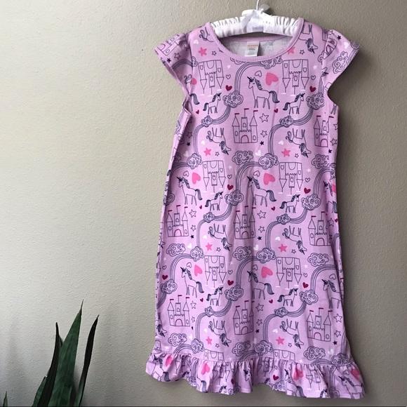 NWT Gymboree Girls Pink Ballerina nightgown girls size 10//12 Long Sleeve